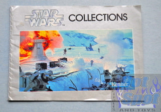 Star Wars Silver Hoth Booklet