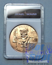 Ewok's Cartoon Wicket Bronze Coin
