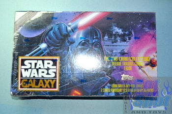 Star War Galaxy Cards Sealed Boxx