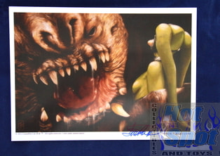 Rancor Dinner Original Print *Autographed*