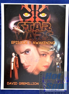 Star Wars Promo for David Gemillion *autographed*