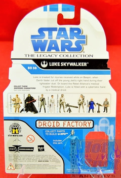 The Legacy Collection The Clone Wars BD38 Luke Skywalker