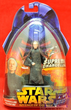 Revenge of the Sith Chancellor Palpatine Action Figure