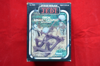 Ewok Assualt Catapult complete w/box