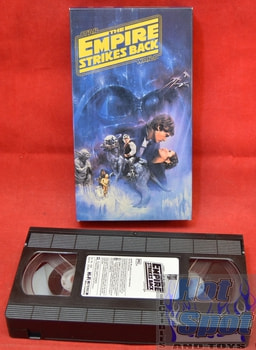 Star Wars Empire Strikes Back Movie Trilogy 1st VHS tape
