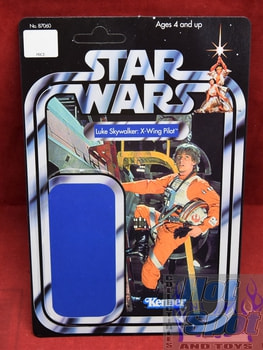 TSC Luke Skywalker Un-punched Card Backer