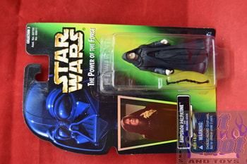 Green Card Emperor Palpatine with Walking Stick (Holo Sticker)