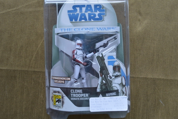 Clone Wars SDCC Exclusive CloneTrooper