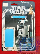 SW R2-D2 12 A Card Backer