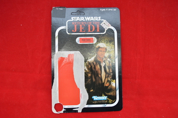 ROTJ Han Solo Trench Coat Outfit 77 B Back