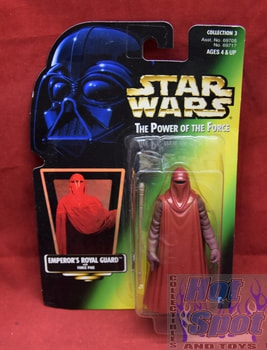 Green Carded Emperor's Royal Guard Figure