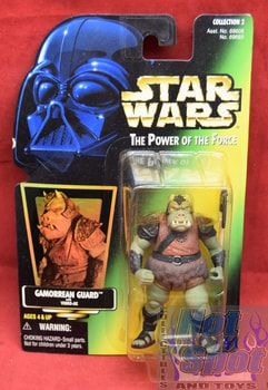 Green Carded Gamorrean Guard Figure