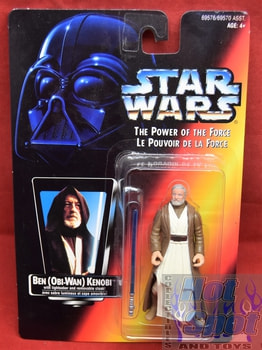 Power of the Force Canadian Carded Ben (Obi-Wan) Kenobi