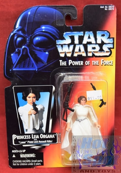 Princess Leia Organa Power of the Force Red Card