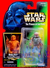 Green Carded Boba Fett figure