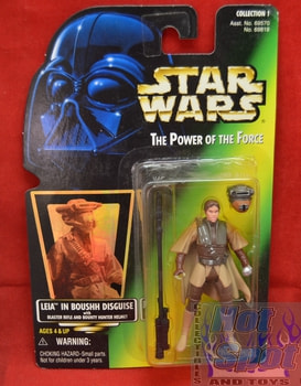 Green Carded Leia in Boushh Disguise