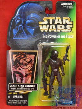 Green Carded Death Star Gunner
