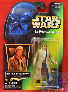 Green Carded Han Solo in Endor Gear