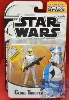 Clone Wars Clone Trooper Yellow Figure