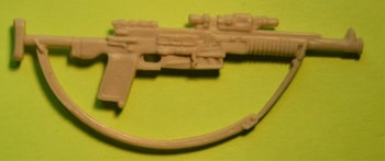 Rebel Commando Rifle