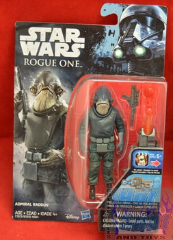Rogue One Admiral Raddus Figure