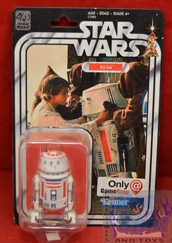 40th Anniversary Game Stop Exclusive R5-D4 6in Figure