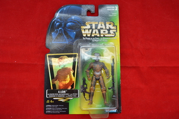 Green Carded 4-lom Tri-Logo Figure