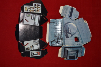 Hoth Ice Planet Playset Carboard Parts