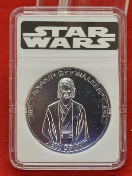 30th Anniversary Tac Anakin Skywalker Coin