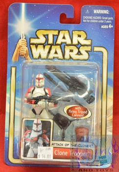 Attack of the Clones Clone Trooper Figure MOC