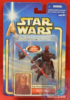 The Phantom Menace Darth Maul Figure Moc