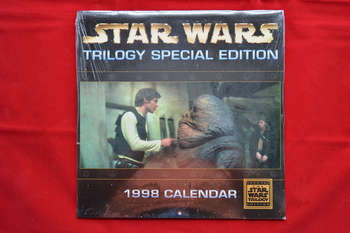 1998 Star Wars Trilogy Special Edition Calendar