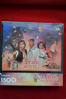 1500 Piece 1995 Star Wars Puzzle
