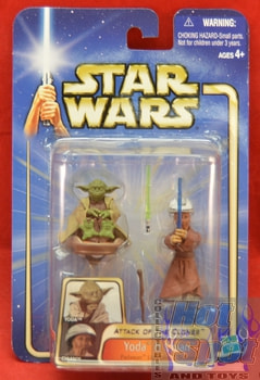 Atack of the Clones Yoda and Chian Figures MOC