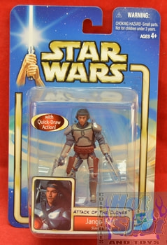 Attack of the Clones Jango Fett Figure Variant MOC