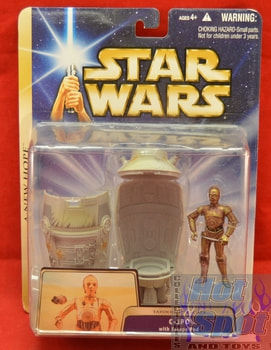 A New Hope C-3PO with Escape Pod Figures