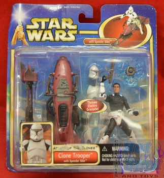 Attack of the Clones Clone Trooper Figure
