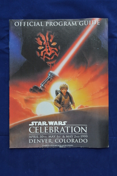 1999 Colorado Star Wars Celebration Program Guide