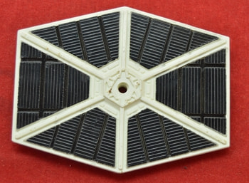 Die Cast white tie fighter Wing