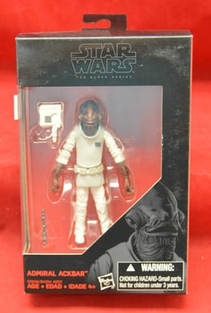 Admiral Ackbar 3.75 Black Series Figure