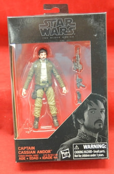 Captain Cassian Andor 3.75 Black Series figure