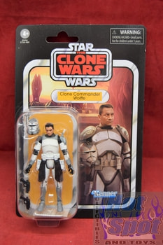 Vintage Collection Clone Commander Wolffe VC168