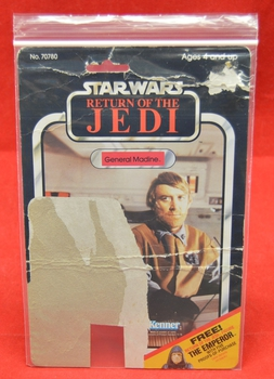 ROTJ General Madine 65 D Backer