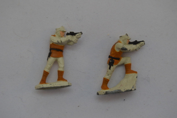 Hoth Rebel Soldiers Micro Machines Lot of 2