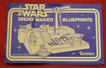 Droid Factory Blue Prints Instructions Insert