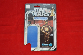 SW C-3PO 12 A Card Backer