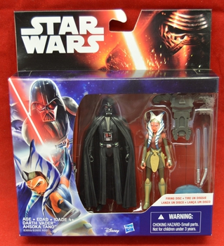 TFA Darth Vader & Ahska Tano two Pack Figures
