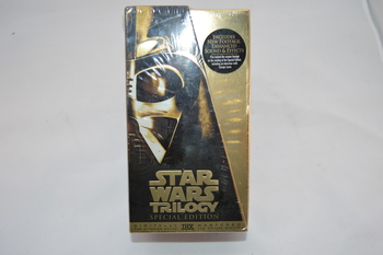 Star Wars Sealed New Special Edition Trilogy On VHS