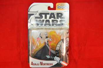 Clone Wars animated Asajj Ventress MOC