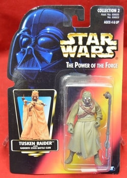 Red Carded Tusken Raider Figure